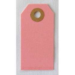 Etiquettes américaines 3.5x7 cm - Rose (Lot de 10)