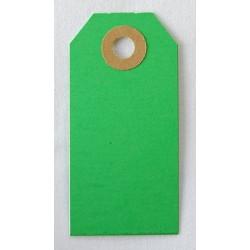Etiquettes américaines 3.5x7 cm - Vert (Lot de 10)