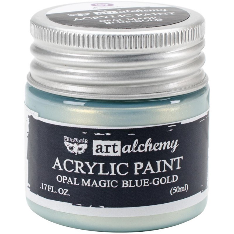 Peinture Art-Alchemy - Opal Magic Blue-Gold