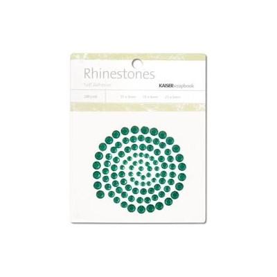 Strass adhésifs (100) - Dark Green