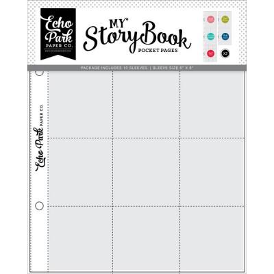 Pochettes My StoryBook 15x20 cm - Assortiment