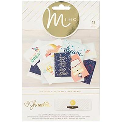 Cartes PL imprimées Minc - Shimelle Starshine