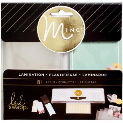 Labels à plastifier Minc