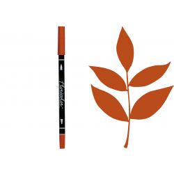 Feutre Floricolor - Terre de Sienne