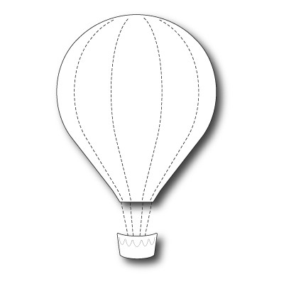 Die Memory Box - Grand Voyage Balloon