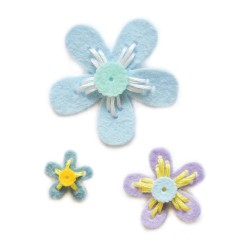 Die Memory Box - Plush Prairie Flowers