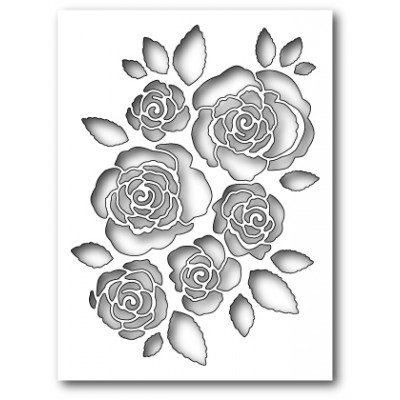 Die Memory Box - English Rose Collage