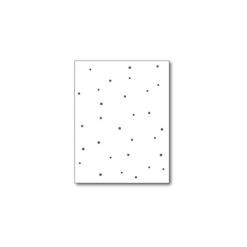 Die Memory Box - Speckled Background
