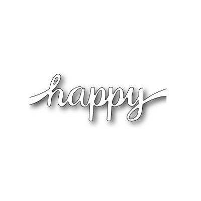 Die Poppystamps - Happy Sash