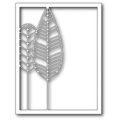 Die Poppystamps - Feather Tree Frame