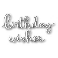 Die Poppystamps - Hip Birthday Wishes