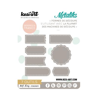 Dies MetaliKs - Étiquettes Cousues