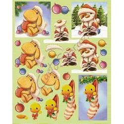 Image Carterie 3D - Mylo le Père Noël
