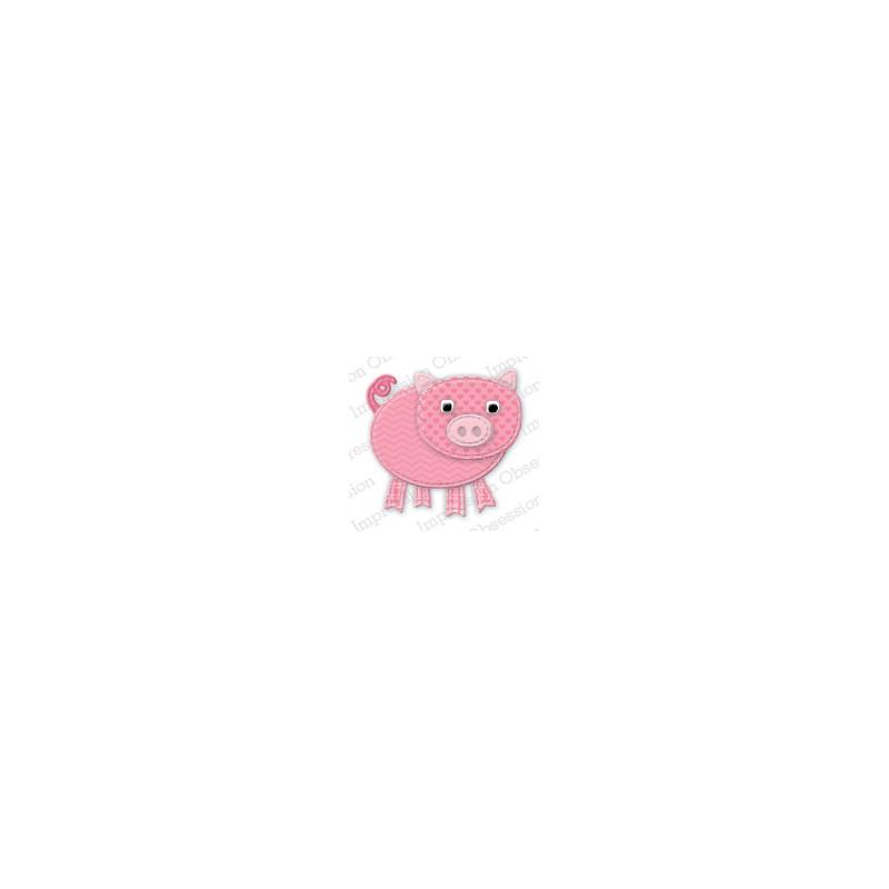 Die Impression Obsession - Patchwork Pig