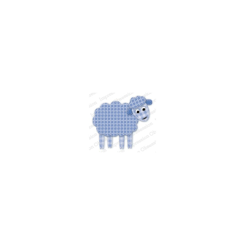 Die Impression Obsession - Patchwork Sheep
