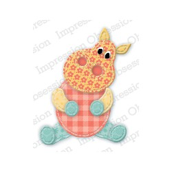 Die Impression Obsession - Patchwork Hippo