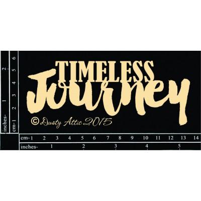 Sujets en carton bois Dusty Attic - Timeless Journey