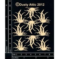 Sujets en carton bois Dusty Attic - Mini Grass Clusters 2