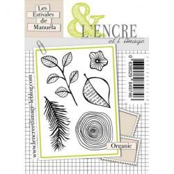 Tampons L'Encre & l'Image - Les Estivales de Manuéla - Organic