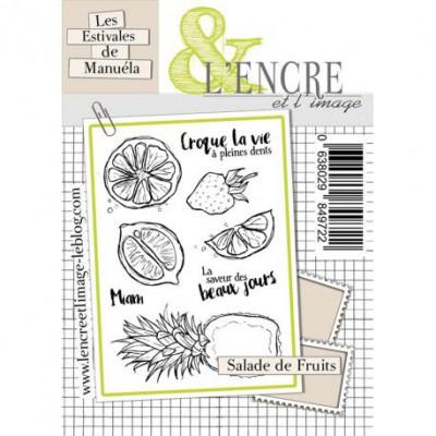 Tampons L'Encre & l'Image - Les Estivales de Manuéla - Salade de Fruits