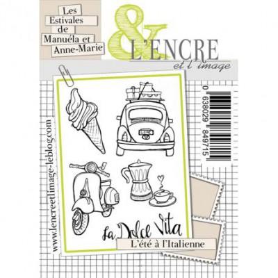 Tampons L'Encre & l'Image - Les Estivales de Manuéla et Anne-Marie - L'été à l'Italienne