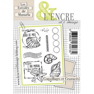 Tampons L'Encre & l'Image - Les Estivales de Manuéla - Coquillages et Crustacés