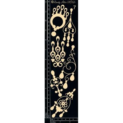 Sujets en carton bois Dusty Attic - Jewelry Drops 7