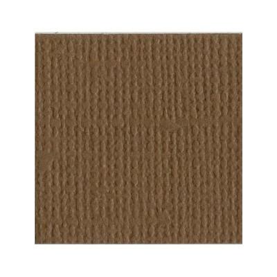Bazzill Walnut - Texture Canvas