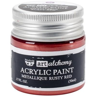 Peinture Art-Alchemy - Metallique Rusty Red