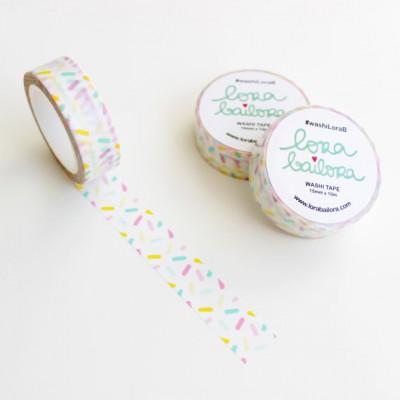 Washi Tape Lora Bailora - Confettis