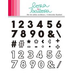 Tampons clear Lora Bailora - Symbol