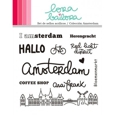 Tampons clear Lora Bailora - Amsterdam
