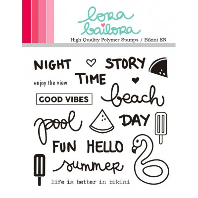 Tampons clear Lora Bailora - Bikini (version anglaise)