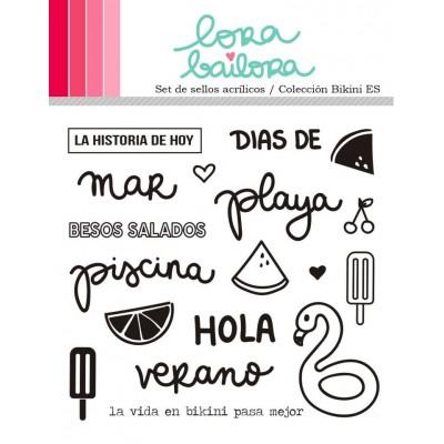 Tampons clear Lora Bailora - Bikini (version espagnole)