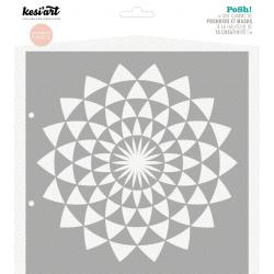 Pochoir Posh ! - Ronds Triangles