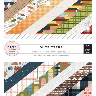 Mini Pack 15x15 - Pink Paislee - Outfitters