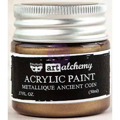 Peinture Art-Alchemy - Metallique Ancient Coin