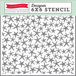 Pochoir Echo Park - Starfish