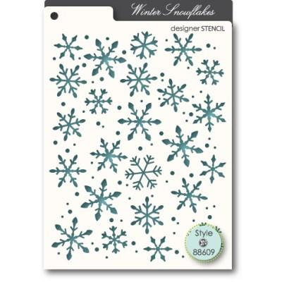 Pochoir Memory Box - Snowflakes