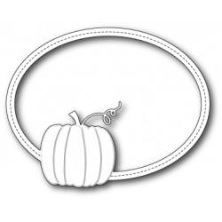 Die Memory Box - Harvest Pumpkin Oval Frame