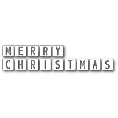 Die Memory Box - Merry Christmas Tiles