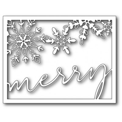 Die Memory Box - Oh So Merry Frame
