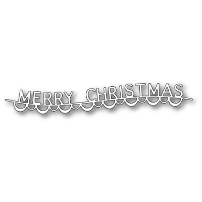 Die Memory Box - Merry Christmas Garland