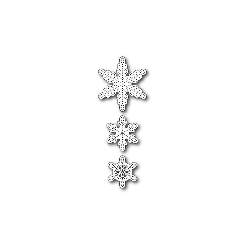 Die Memory Box - Pinpoint Snowflakes