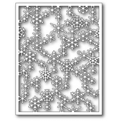 Die Poppystamps - Snowflake Lattice Frame
