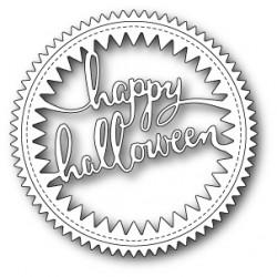 Die Poppystamps - Hip Halloween Circle Frame