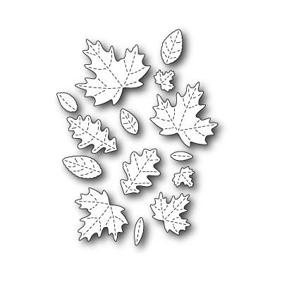 Die Poppystamps - Fall Leaf Collage