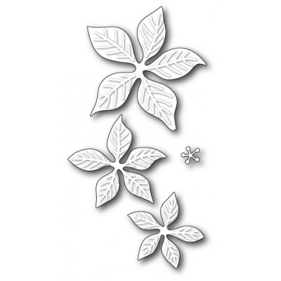Die Poppystamps - Holiday Poinsettia