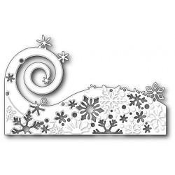 Die Poppystamps - Snowflake Wave