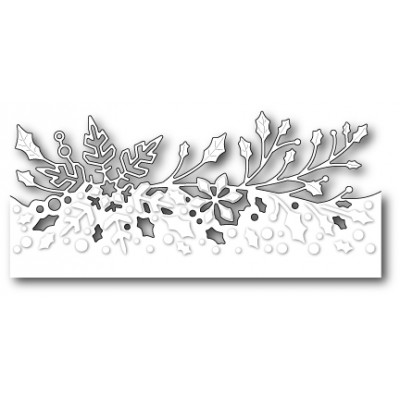 Die Poppystamps - Wintergreen Border
